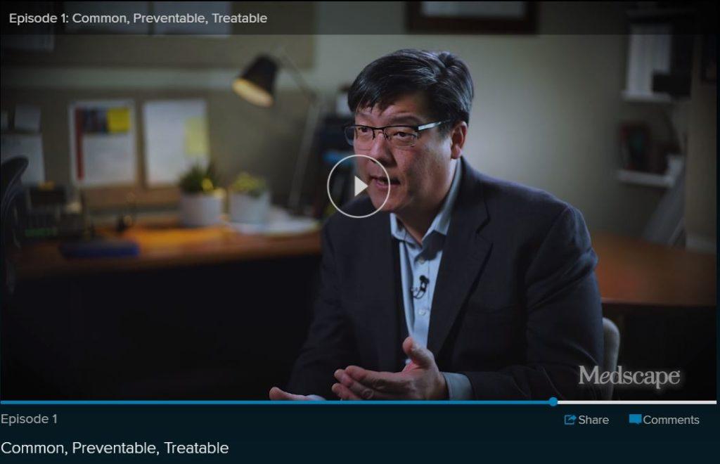 Medscape Video screenshot - Dr. Au